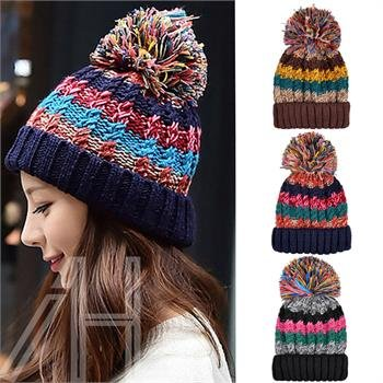 AHG Winter Cable Knit Beanie Chunky Warm Woolly Bobble Ski Hat Mens Womens  Ladies  Amazon.co.uk  Toys   Games 30496c549ef9