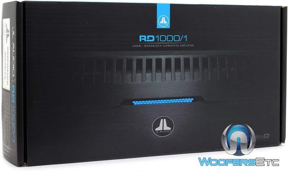 JL Audio RD1000//1 NexD Monoblock Class D Car Audio Amplifier