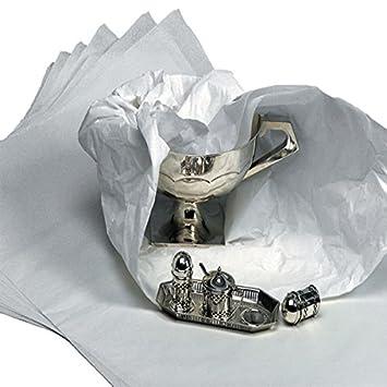 Sin ácido Tejido blanco - 450 x 700 mm. 500 hojas unidades. Premium esmaltado