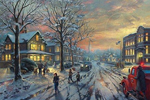 - Ceaco Thomas Kinkade A Christmas Story  Jigsaw Puzzle (300 Pieces)