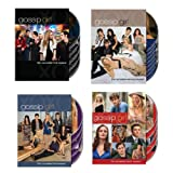 Gossip Girl : Complete Season 1 2 3 4 Combo Pack [DVD TV Box Set Series Complete] NEW