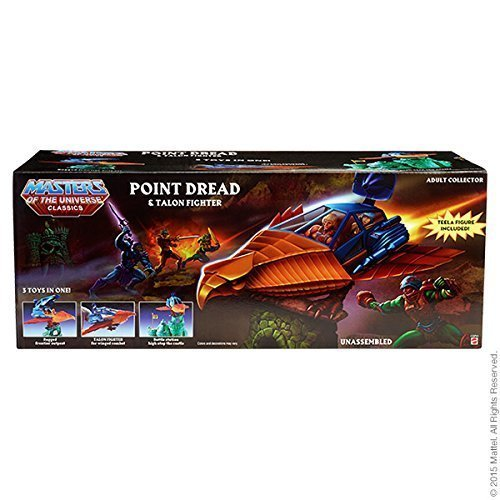 Masters of the Universe Classics Point Dread and Talon Fighter Set with Teela Action -
