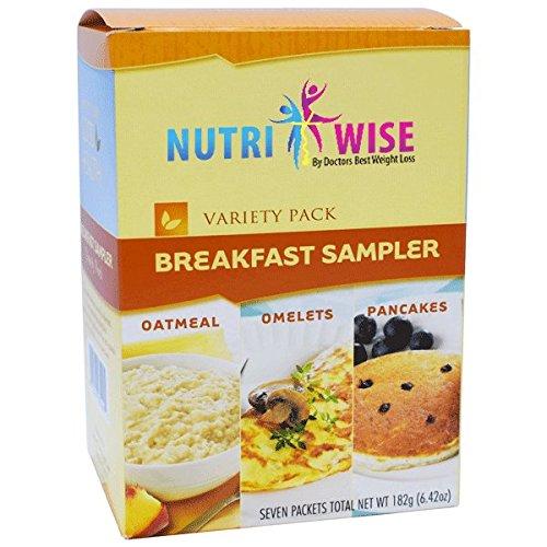 NutriWise – Diet Breakfast Sampler Pack (7/Box) For Sale