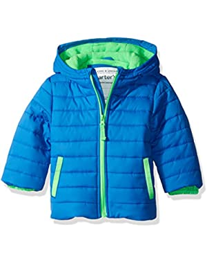 Carter's Baby Boys' Infant Quilted Heavyweight Bubble Jacket