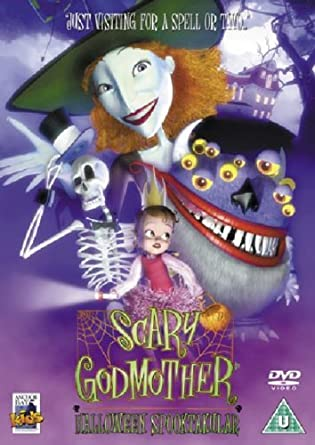 scary godmother halloween spooktakular dvd