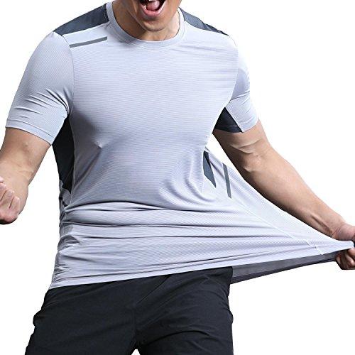 高度ソフィーいたずらSen YR tシャツ メンズ 大きい サイズ スポーツウェア ティシャツ メンズ 迷彩 tシャツ 吸汗速乾 軽量 通気性 耐久性 伸縮性 夏 反射素材デザイン