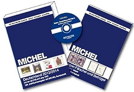 Michel Deutschland CD - Colour Pages - Postage Stamp Catalogue 2013