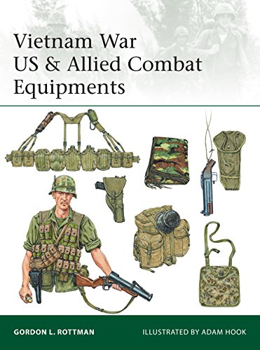 Vietnam War US & Allied Combat Equipments (Elite Book 216)