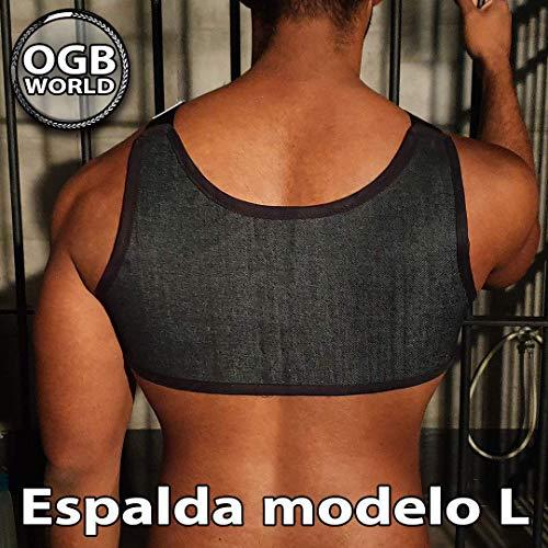 OGBWorld ARNÉS DE PECHO HOMBRE - Diseño en H - Espalda modelo L en ...