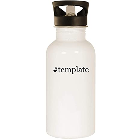 Amazon Template Stainless Steel 20oz Road Ready Water Bottle