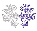 Metal Cutting Dies Stencil Template for DIY Scrapbook Album Paper Card Craft Decoration (Butterfly) offers