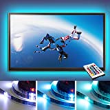 ONXO LED Strip TV 55 inches Multi-color USB LED Strip Light with Mini Controller for TV/PC Background Lighting