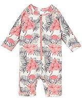 RuffleButts Baby/Toddler Girls Pastel Floral...