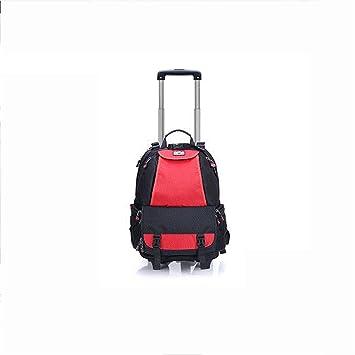 BKPH Multifunción Cámara/Mochila portátil/Backpack Polea de 4 Ruedas Rotación de 360 °: Amazon.es: Deportes y aire libre