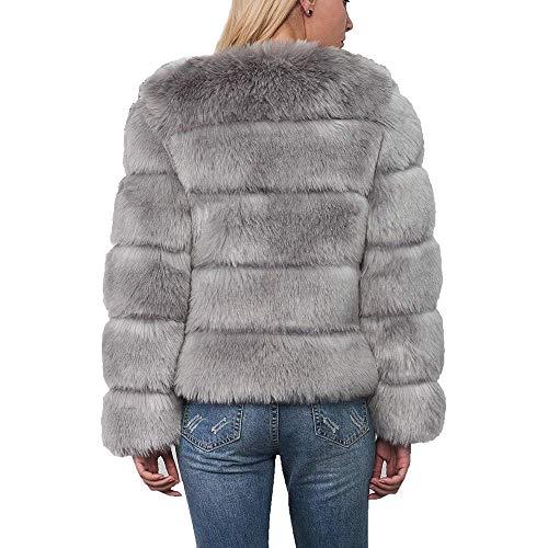 Calidad Grau Chaqueta Cosecha Mujeres Piel Sintética Tight Cálida Moda Rosa Super Negro Abrigo Mujer Sólido De Gris Parka Las Para Invierno Ropa Señoras Salvaje xwWnWqgXU