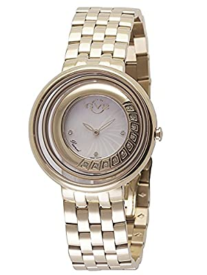 GV2 by Gevril Women's 1602 Vittorio Analog Display Swiss Quartz Gold Watch