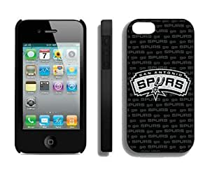 Cool Design Apple Iphone 4s Case NBA San Antonio Cheap Personalised Iphone 4 Protective Cover