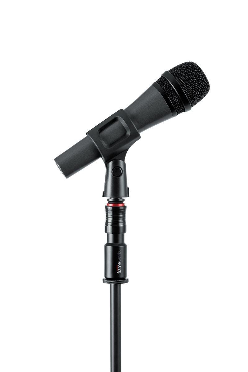 Gator Frameworks Microphone Clip Quick Release Attachment; 3 pack GFW-MIC-QRTOP3PK