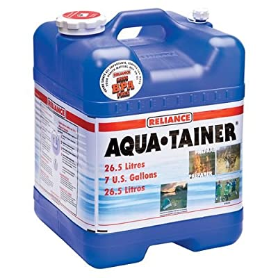 Reliance Products Aqua-Tainer 7 Gallon Rigid Water Container (2 Containers (7-Gallon)`)
