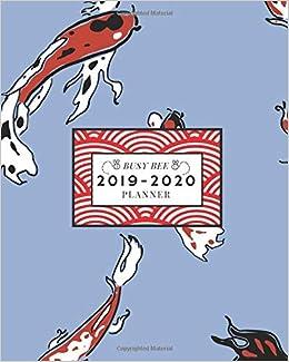 Amazon.com: 2019-2020: Weekly and Monthly Academic Calendar ...