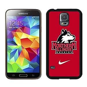 niu huskies Black Hard Plastic Samsung Galaxy S5 I9600 G900a G900v G900p G900t G900w Phone Cover Case