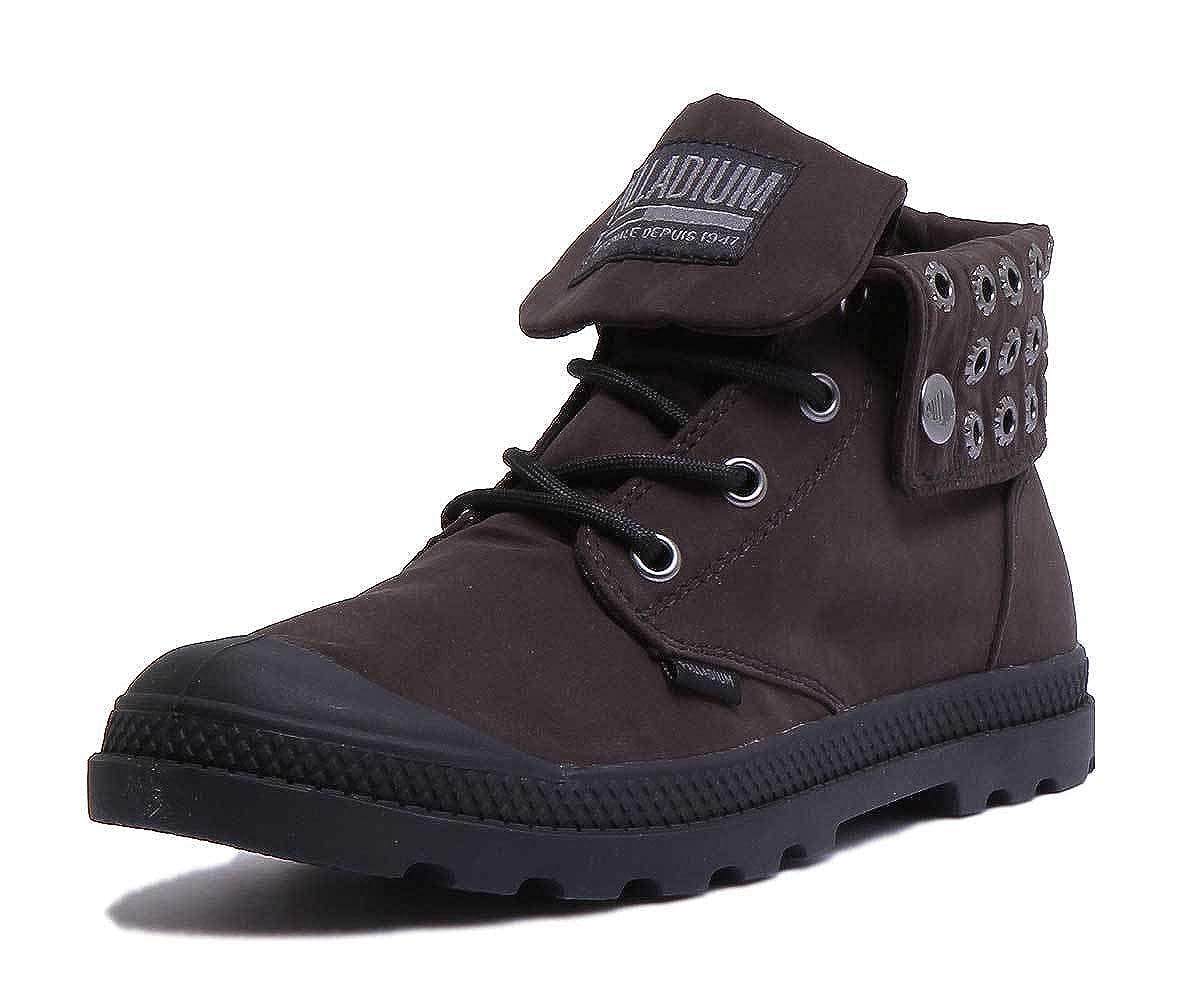 Black-80 Palladium Baggy Boots in Black