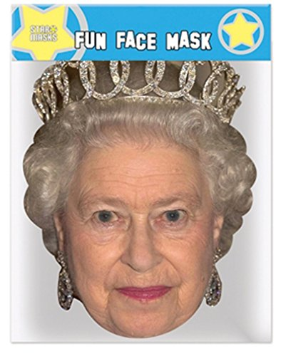 The Queen - Celebrity Face Mask (Celebrity Face Masks)