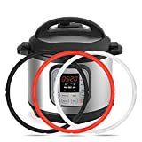 Mocoosy Silicone Sealing Ring 8qt Instant Pot Sealing ring for 8 Quart Pot, Sweet and Savory, BPA-free, Food-grade Silicone, Fit Instant Pot IP-DUO80 IP-LUX8 (Black, Red, Clear)