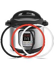 Mocoosy Silikontätningsring för InstaPot 8 qt, Insta kastrulltätningar ersättningspackning 8 kvart Insta kruka O-ringar, BPA-fri, silikon av livsmedelskvalitet, Insta Pot tillbehör för Instant Pot IP-DUO80 IP-LUX 8
