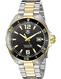 Men's 'Formula 1' Swiss Quartz Gold-Tone and Stainless Steel Dress Watch, Color:Two (Model: WAZ1121.BB0879)