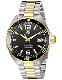 TAG Heuer Men's 'Formula 1-Feet Swiss Quartz Stainless Steel Dress Watch (Model: WAZ1121.BB0879)