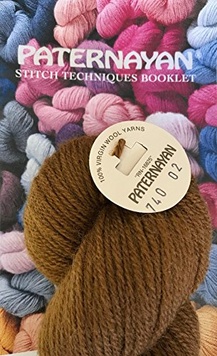 Paternayan Needlepoint 3 Ply Wool Yarn Color 740 Tobacco Hank 1 Hank With This Listing