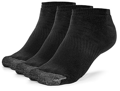 Galiva Mens Cotton Extra Soft Low Cut Cushion Socks - 3 Pairs