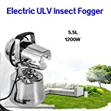 NICE CHOOSE 110V 1200W Electric ULV Sprayer Triple Jet Pest Control Mold Insect Mosquito Fogger for Hotel Home School and Hospitals - US Shipping
