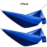 The Rocky Peak #1 Ultralight Camping Hammock with FREE ROPES - NEW Designs! for Backpacking or Hiking - - Portable and Super Strong