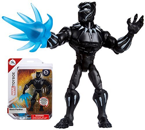 """Black Panther Marvel Toybox Exclusive 5"""" Action Figure"""