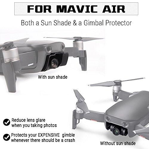 Arzroic Mavic Air Lens Hood Sun Shade Accessories Camera