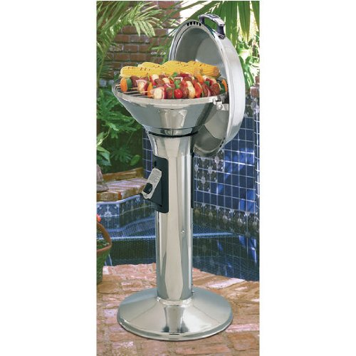 Outdoor Pedestal Grill - 1