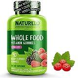 NATURELO Whole Food Vitamin Gummies for Kids - Best Chewable Gummy Multivitamin for Children - New & Improved Flavor - Non-GMO - All Natural Vitamins, Minerals - 90 Vegan Gummies