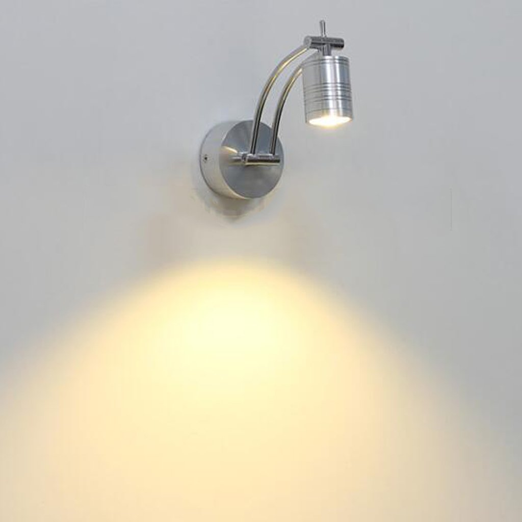 grande sconto Lampada da parete parete parete a LED da parete a soffitto Lampada da parete a soffitto Illuminazione a parete girevole Lampada da parete per camera da letto Lampada da parete per lampade a LED da 5 Watt  spedizione e scambi gratuiti.