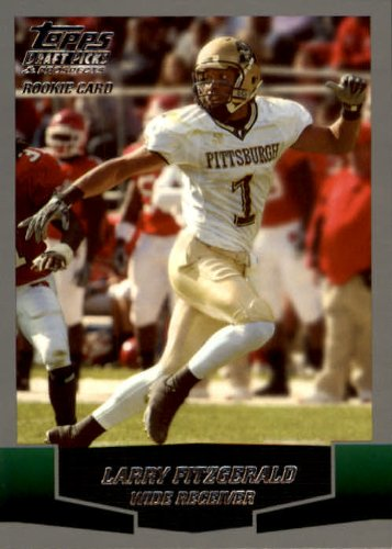 2004 Topps Draft Picks and Prospects Football Rookie Card #140 Larry Fitzgerald Mint (2004 Topps Draft)