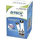Tiras Reagentes G-Tech Lite (Caixa com 25 Unidades), G-Tech
