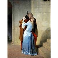 Posterlounge Immagine The kiss - Francesco Hayez