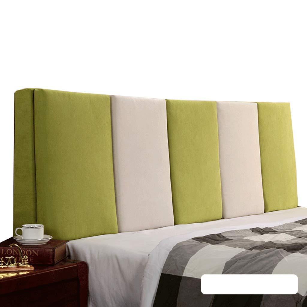 人気沸騰ブラドン ベッドサイド ダブルベッド背もたれクッションヘッドボードソファ張りの柔らかい枕腰椎パッド取り外し可能、7色、6サイズ (色 Green+Beige サイズ : Gray+Beige, サイズ B07R8XL9NB さいず : 160cm) B07R8XL9NB 160cm|Green+Beige Green+Beige 160cm, joystore:0e719fcf --- cygne.mdxdemo.com