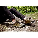 Chaussures de Randonnée Outdoor pour Hommes Femmes Basses Trekking et Les Promenades Sneakers Verte Bleu Noir 36-47 11