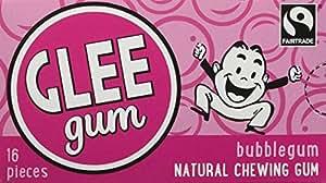 Glee Gum Bubblegum, 16-Piece Packages (Pack of 12)