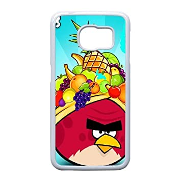Samsung Galaxy S6 Edge Phone Case Angry Birds A7080: Amazon ...