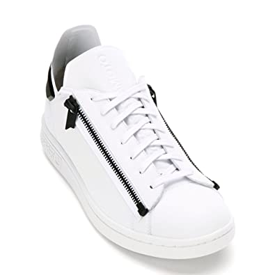 d03b85d5e Y-3 Men s Stan Zip Sneaker S82113 Ftw White Ftw White Core Black. Roll over  image to zoom in. Adidas X Yohji Yamamoto