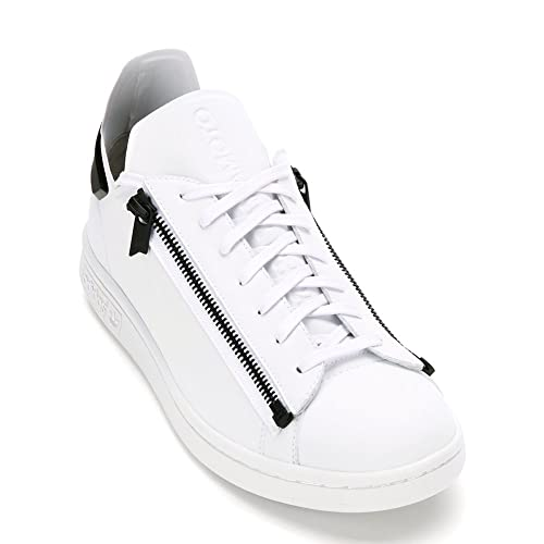 53957d6476e2 Y-3 Men s Stan Zip Sneaker S82113 Ftw White Ftw White Core Black (UK ...