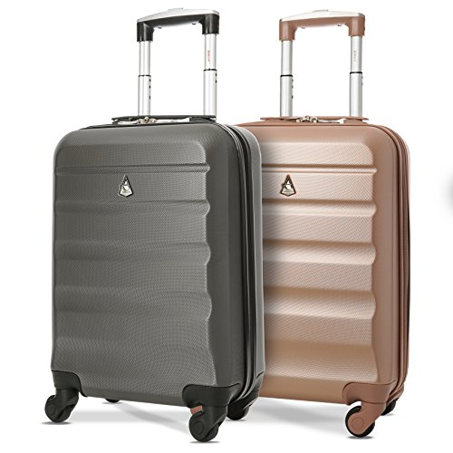 x2 Maximum Allowance Airline Approved Delta United Southwest Carryon Suitcase (Best Carry On Luggage For United Airlines)